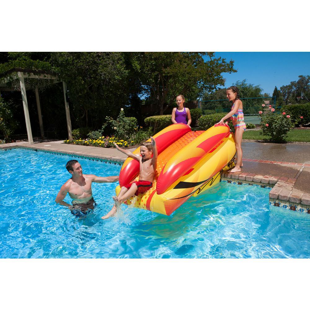 Poolmaster Aqua Launch Inflatable Pool Slide