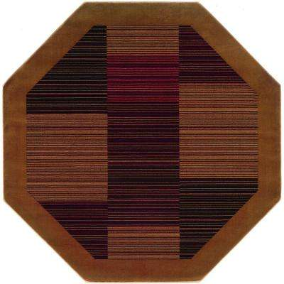 Everest Hampton S Camel 5 Ft X Octagon Area Rug