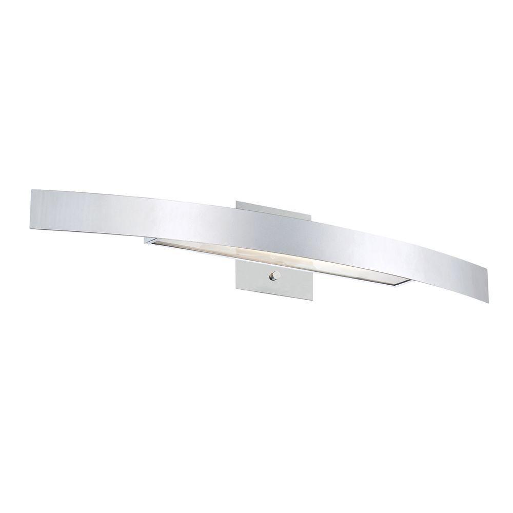 Eurofase Sahar Collection 1-Light Chrome Sconce