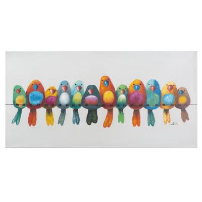 24 in. x 48 in. Birds on a Wire I