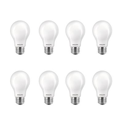 60-Watt Equivalent A19 Energy Saving LED Light Bulb in Soft White with Warm Glow Dimming Effect (2700K) (8-Pack)