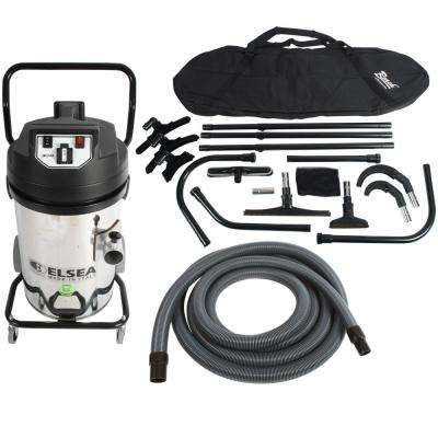 20 Gal. Trantor Industrial 2-Motor Canister Vacuum with Filter Shaker and 25 ft. High Reach Attachment Package