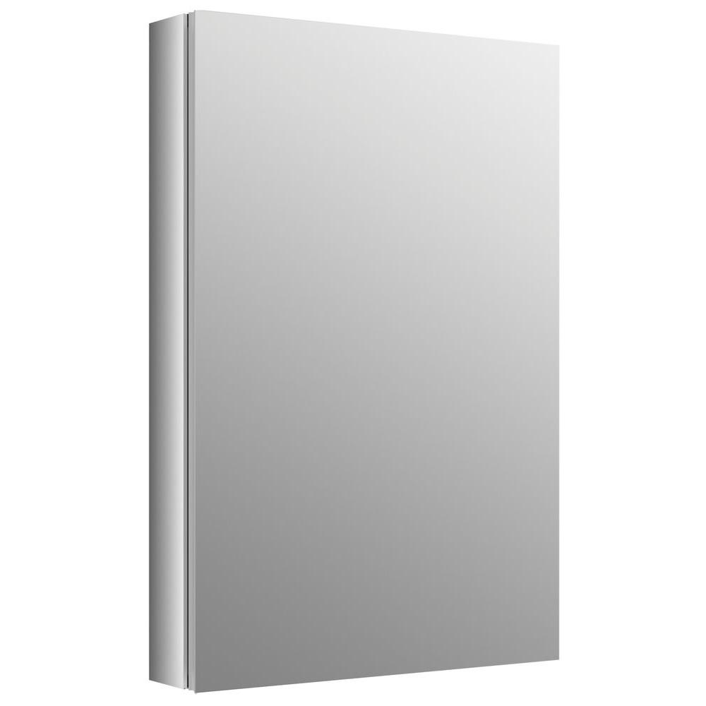 Recessed Medicine Cabinet in Anodized Aluminum. Bathroom Cabinets   Storage   Bath   The Home Depot