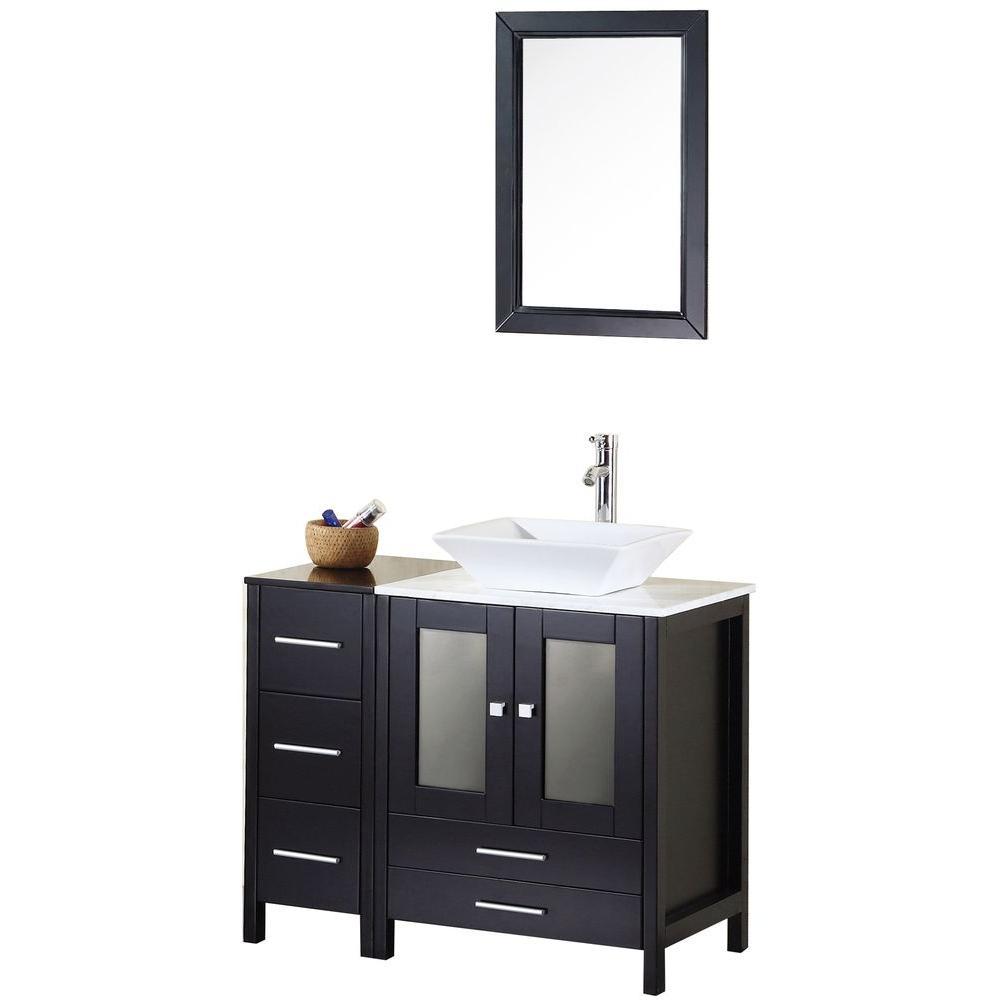 Design Element Arlington 36 In W X 22 In D Vanity In