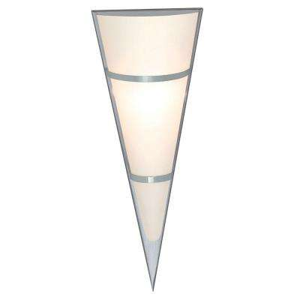 Pascal 1-Light Matte Nickel Wall/Ceiling Light