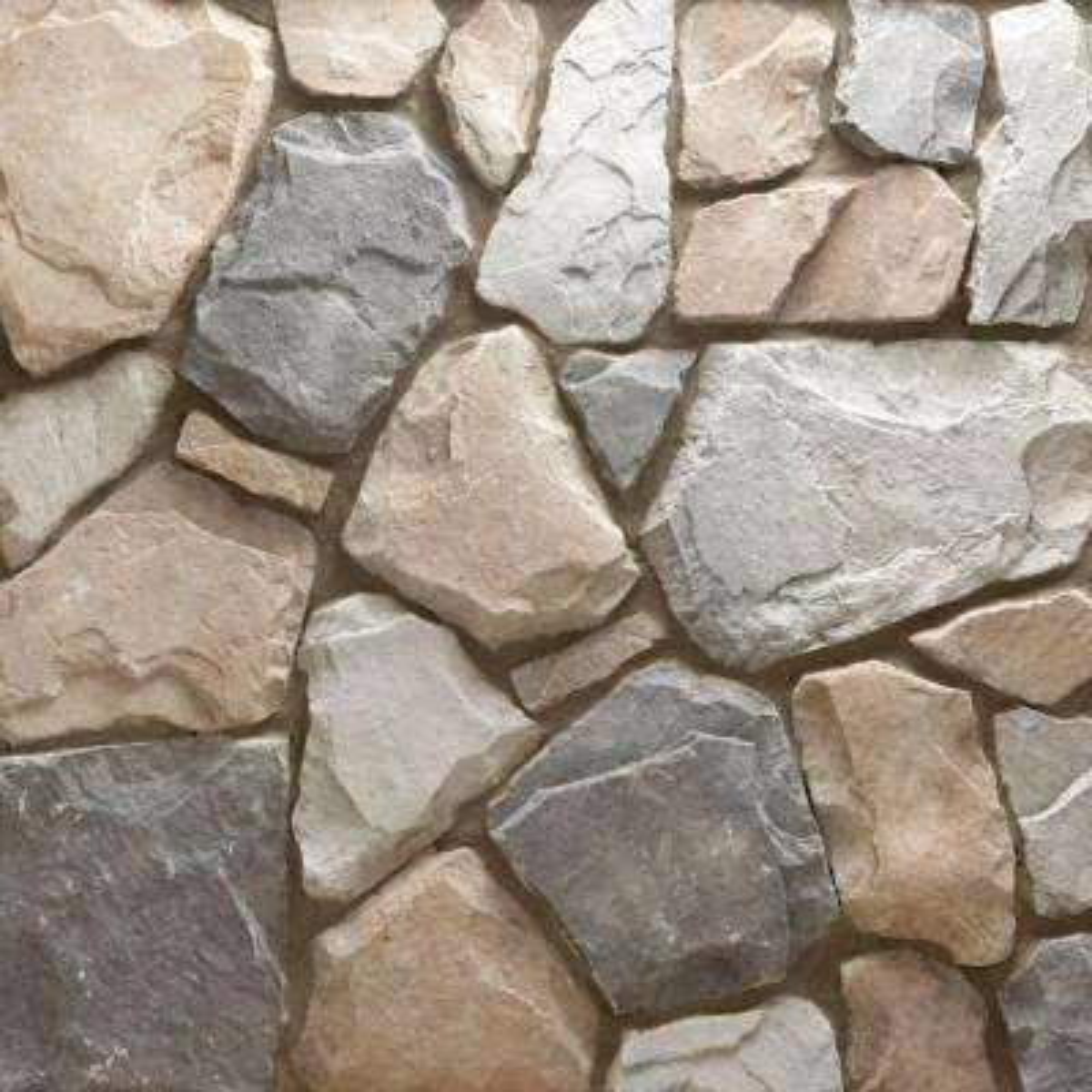 Field Stone Gainsboro Flats 150 sq. ft. Bulk Pallet Manufactured Stone