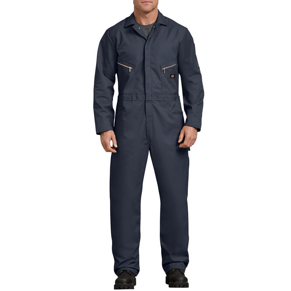 e27032857e0c7 Dickies Men's Dark Navy Deluxe Blended Coverall-48799DN S TL - The ...