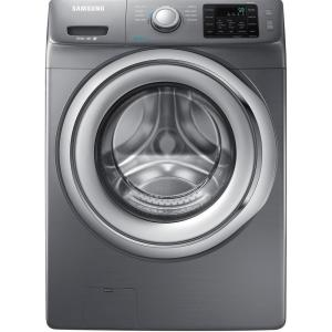 Samsung 4.2 cu. ft. Front Load Washer with Steam in Platinum, ENERGY STAR by Samsung
