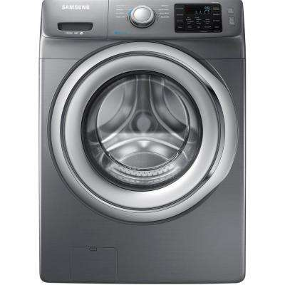 4.2 cu. ft. Front Load Washer with Steam in Platinum, ENERGY STAR