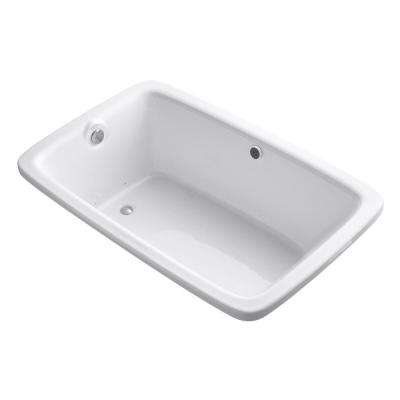 Bancroft 5.5 ft. Acrylic Rectangular Drop-in Whirlpool Bathtub in White