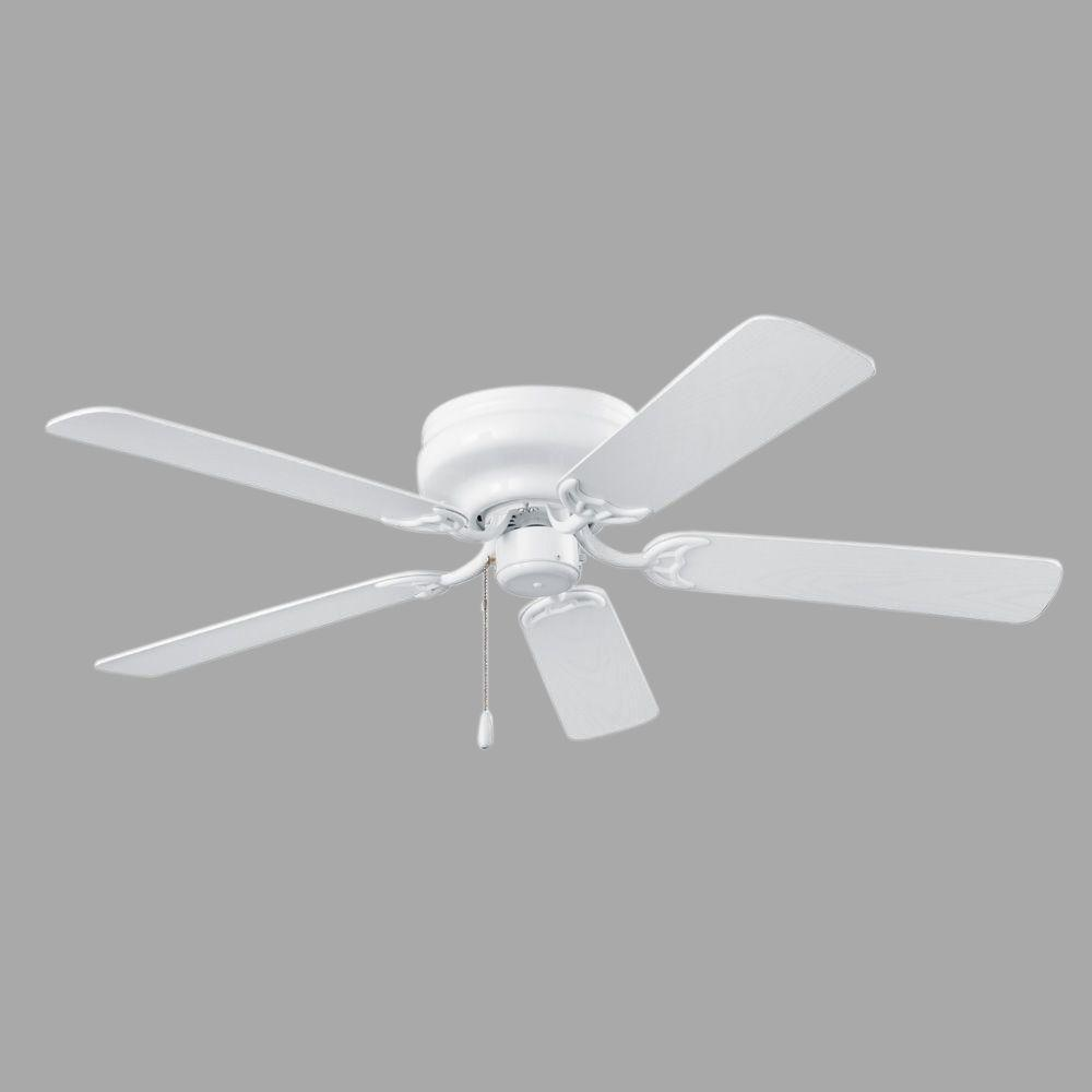 NuTone Hugger Series 52 in. Indoor White Ceiling Fan