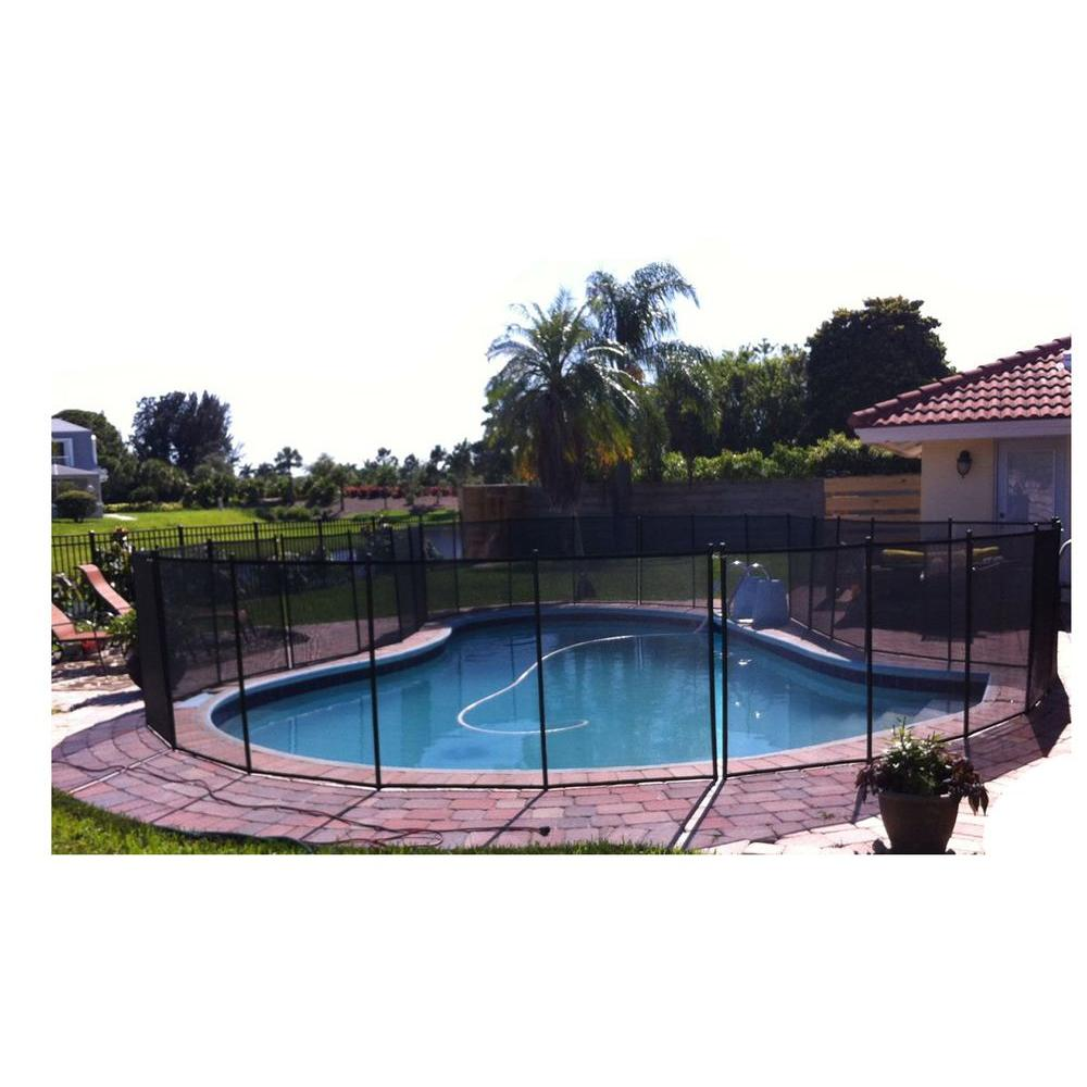Water Warden 5 ft. x 12 ft. Ground Pool Safety Fence