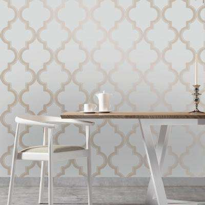 Bronze Grey Marrakesh Wallpaper