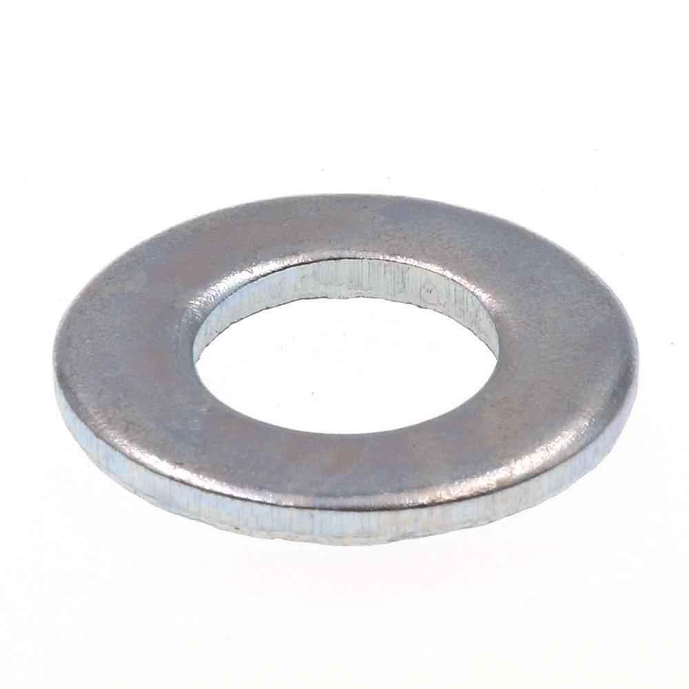 100 Pack Steel U-Turn Zinc Plated #4 SAE Flat Washer 5//16 OD