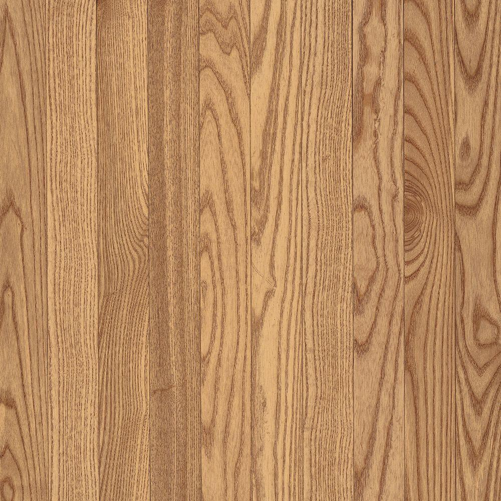 Bruce American Originals Natural Oak 3/8 in. T x 3 in. W x Varying L Click Lock Engineered Hardwood Flooring (22 sq.ft. )