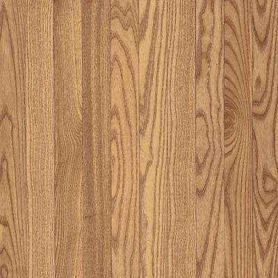 American Originals Natural Oak 3/8 in. T x 3 in. W x Varying Length Eng Click Lock Hardwood Flooring (22 sq. ft. / case)