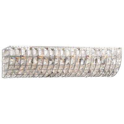 Palermo 6-Light Chrome Bath Vanity Light