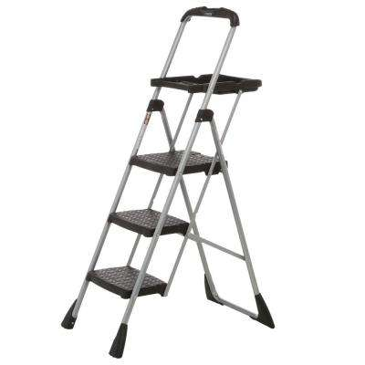 4 ft. Steel Max Work Platform Ladder with 225 lbs. Load Capacity