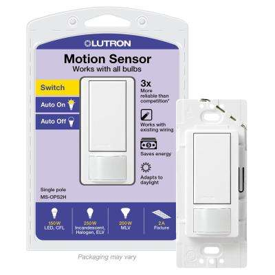 120//277V EATON Wiring OSP10-W Commercial Grade Passive Infrared Wall Mounted Occupancy Sensor with Wall Plate White