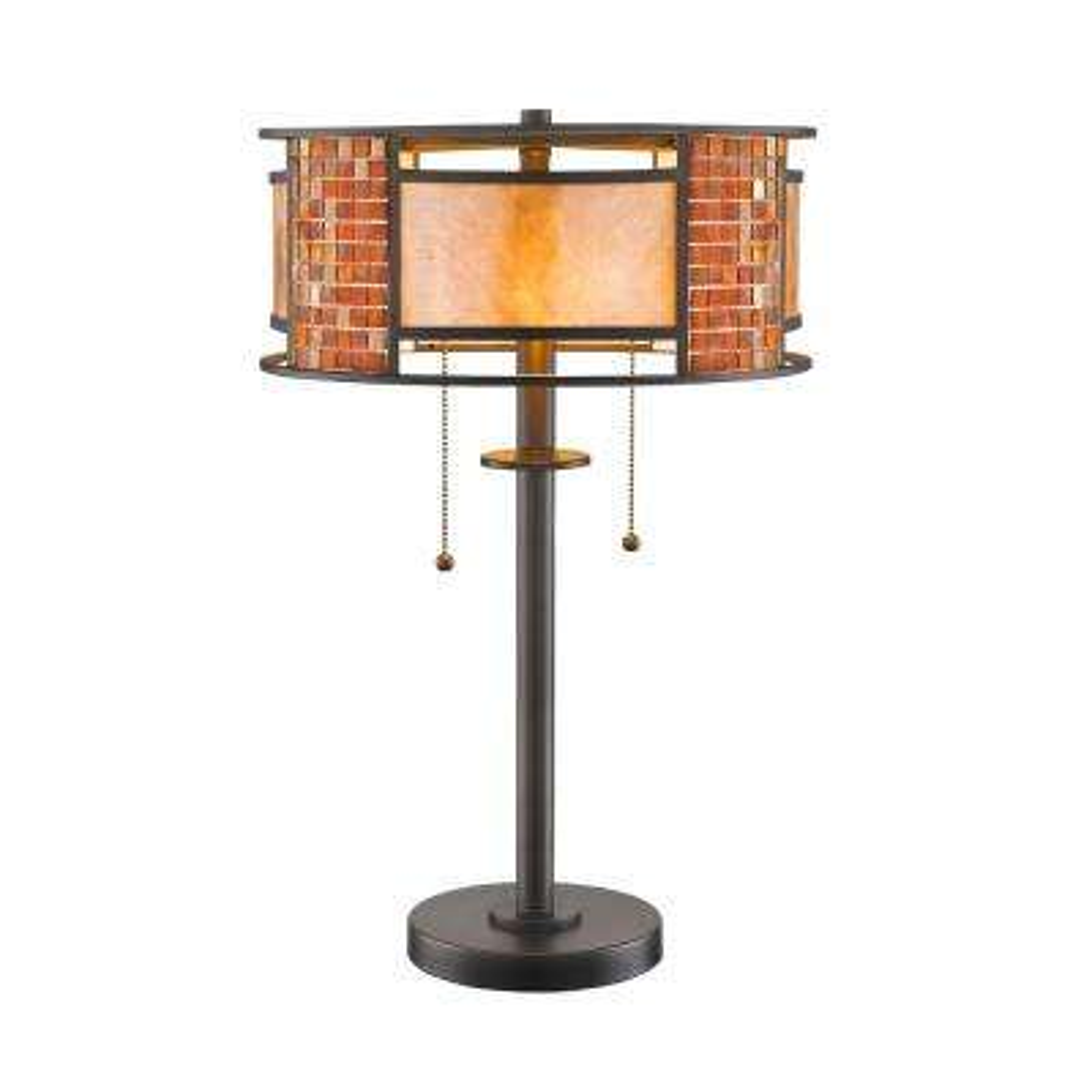 Brooke 22 in. Bronze Table Lamp