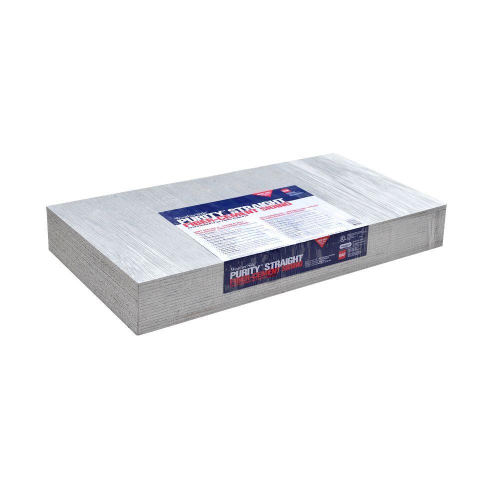 Fiber Cement Shingle Siding Weatherside Purity Straight 12