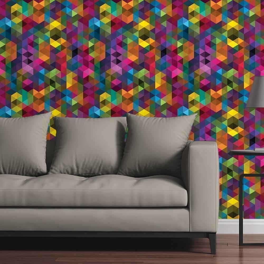 Modern Kaleidoscope by Raygun Removable Wallpaper Panel