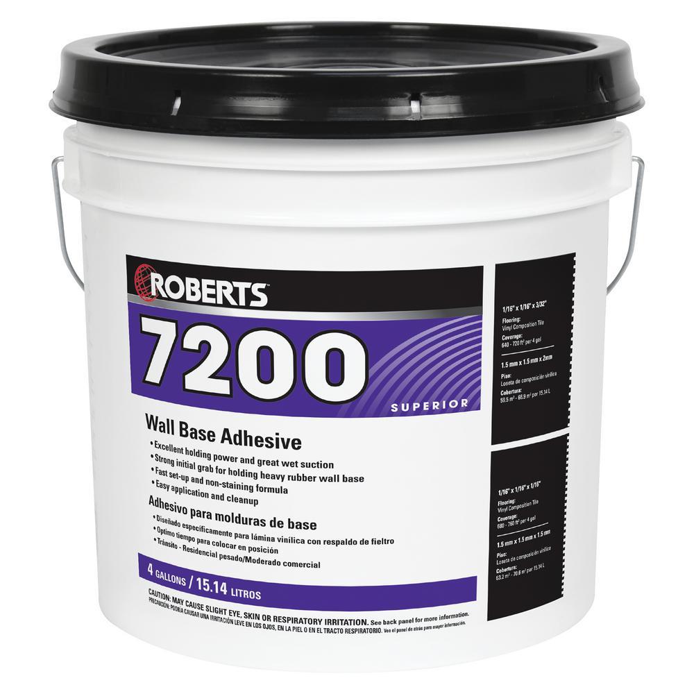 7200 4 Gal. Wall and Cove Base Adhesive