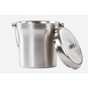 Stainless Steel Double-Wall Ice Bucket by
