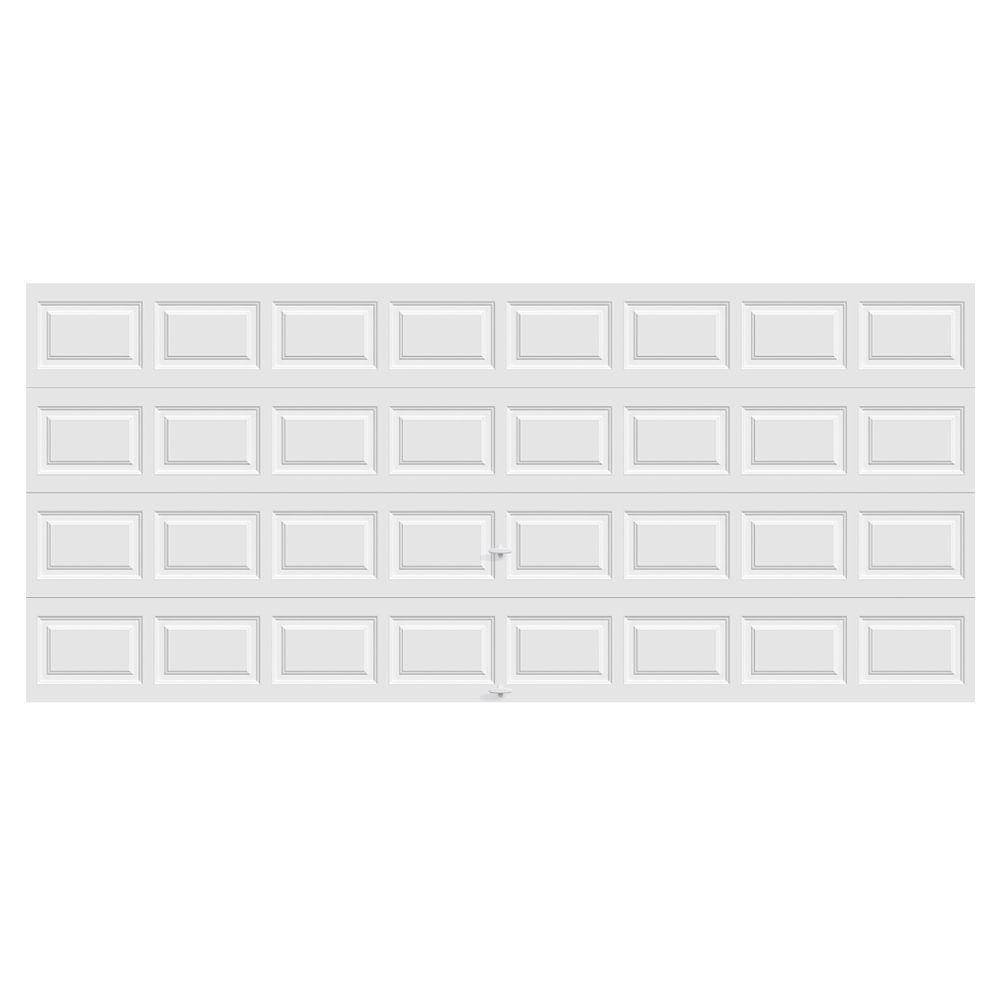 Premium Series Insulated Short Panel Garage Door