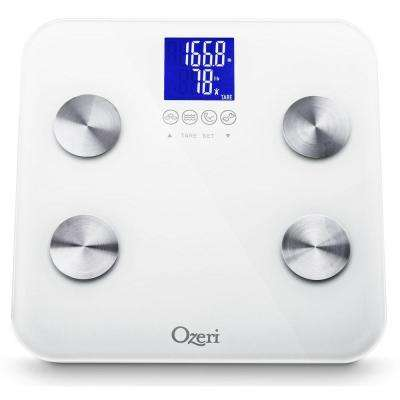 Ozeri Touch Digital 440 lb. Total Body Bath Scale