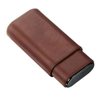 Burgos Brown Leather Cigar