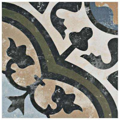 Evoque Carthusian 9-3/4 in. x 9-3/4 in. Porcelain Floor and Wall Tile (10.76 sq. ft. / case)
