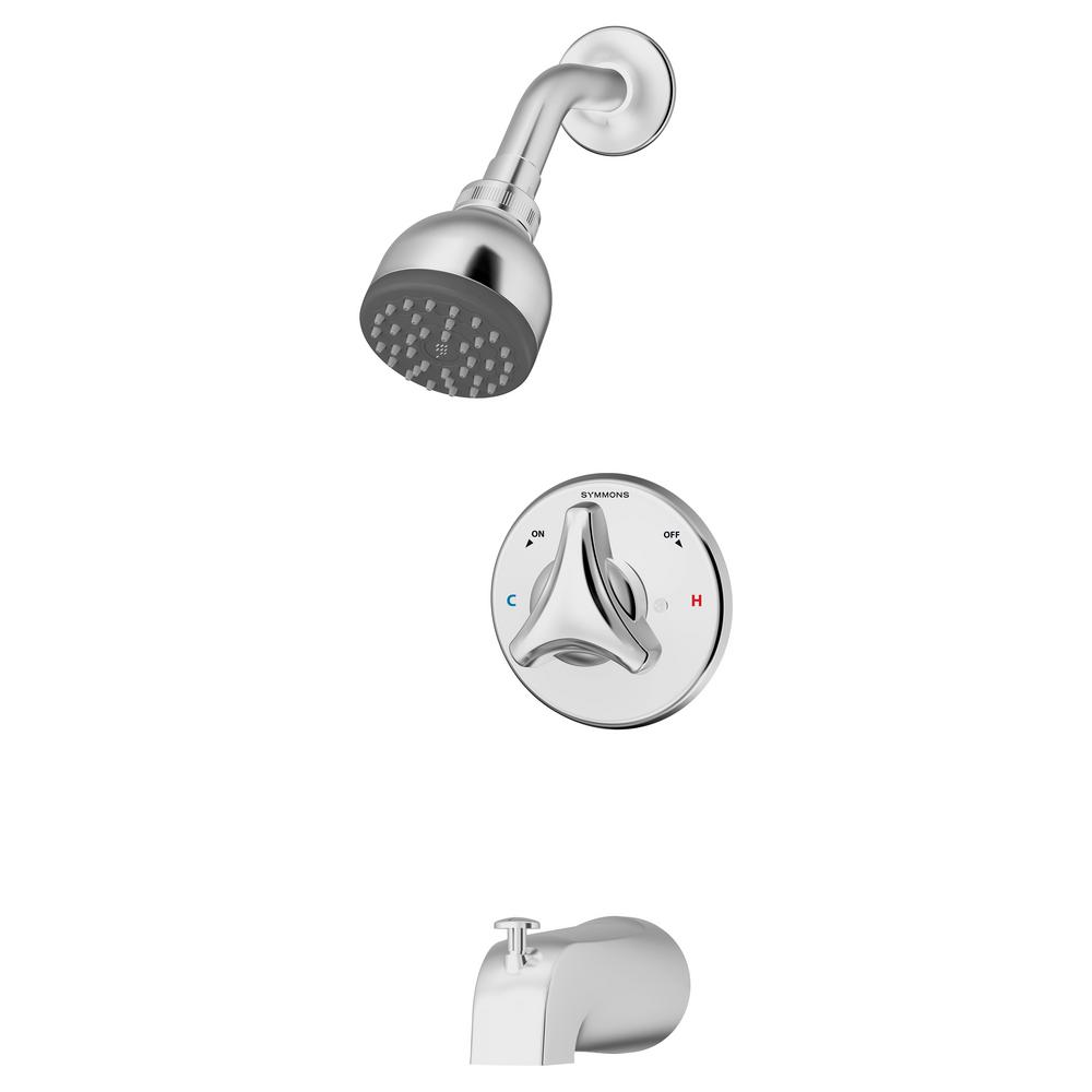 Origins Temptrol Single-Handle 1-Spray Tub and Shower Faucet with Stops in