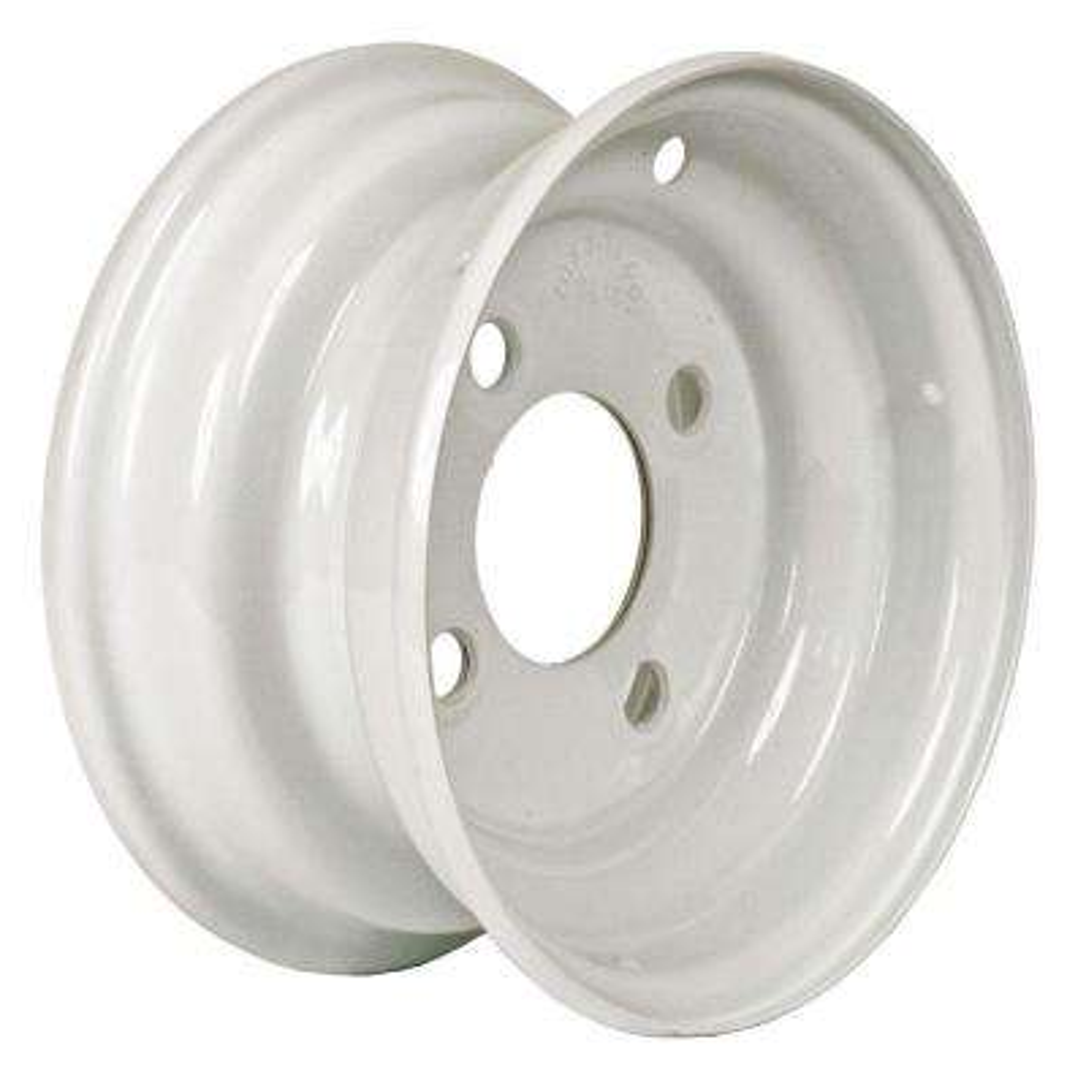 8x3.75 4-Hole 8 in. Steel Trailer Wheel/Rim