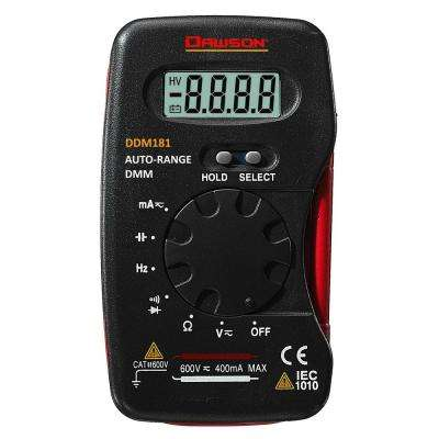 Pocket-Size Autorange Digital Multimeter