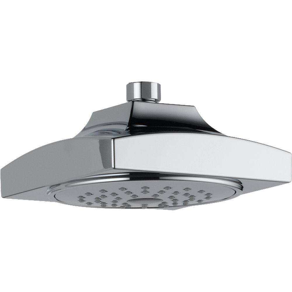 Delta Arzo Showerhead in Chrome-DISCONTINUED