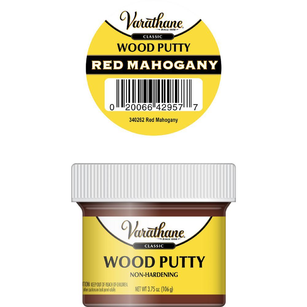 3.75 oz. Red Mahogany Wood Putty (6-Pack)