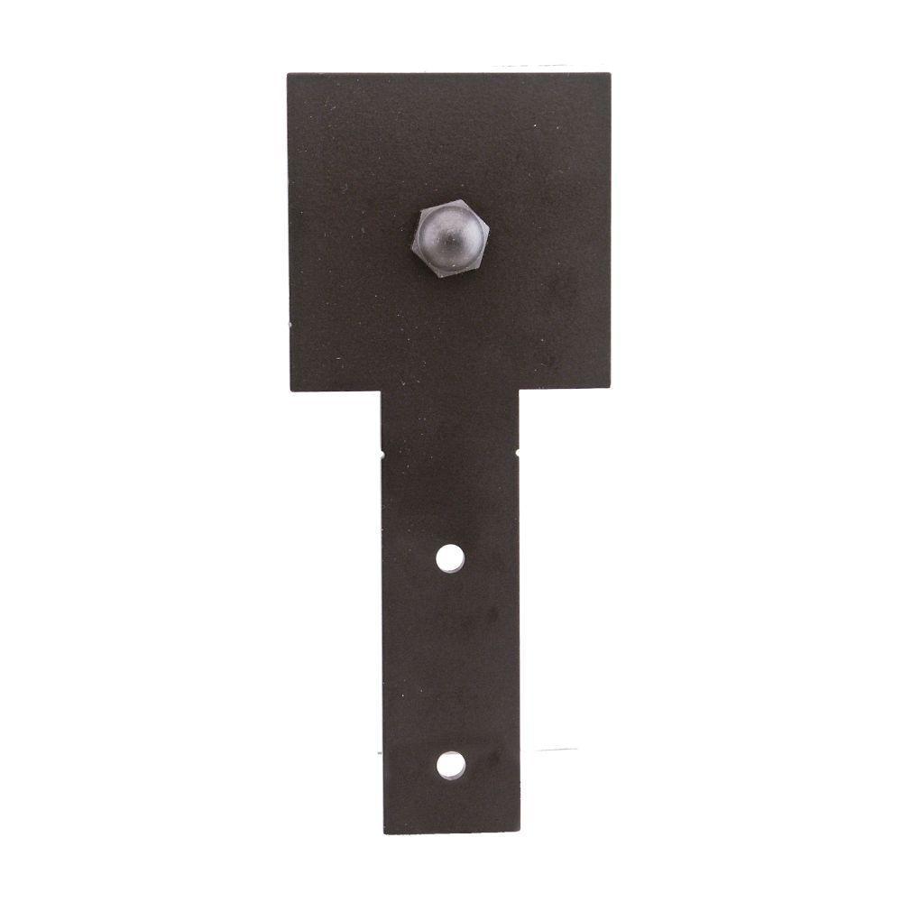 Quiet Glide 6-13/16 in. x 2-7/8 in. Cube Stick Black Roller Strap