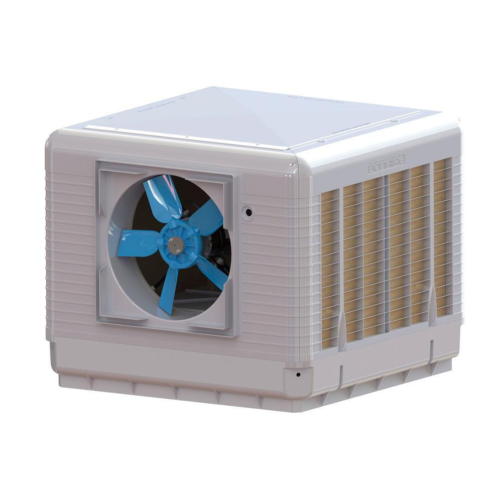 Bonaire Durango 4000 Cfm 2 Sd Down Side Discharge Roof Top Evaporative Cooler For