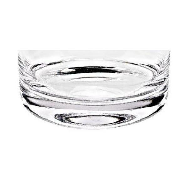 Badash Crystal Manhattan 8 In Clear European Mouth Blown Lead Free Crystal Classic Cylinder Bowl Sl655 The Home Depot