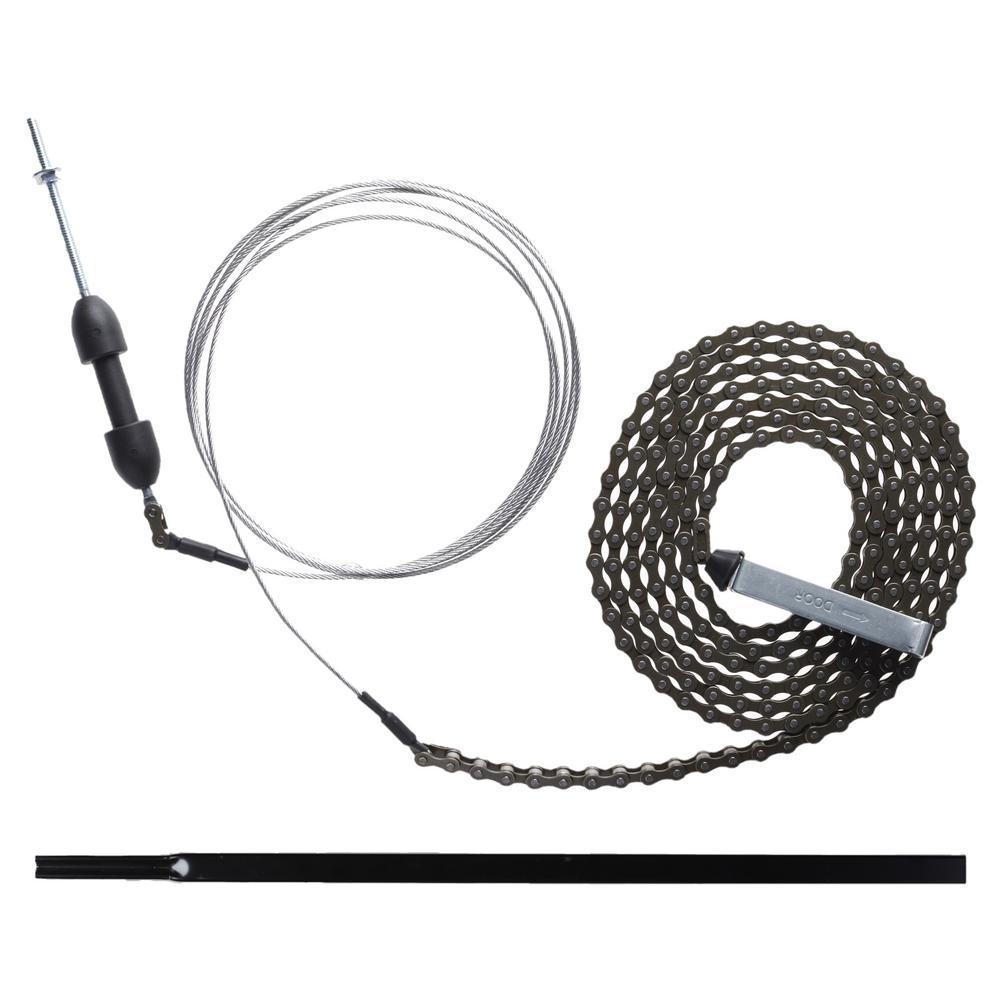 8 ft. Garage Door Chain Drive Extension Kit 8CX Black