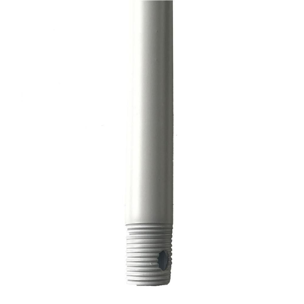 Modern Forms 12 in. Matte White Ceiling Fan Extension Downrod