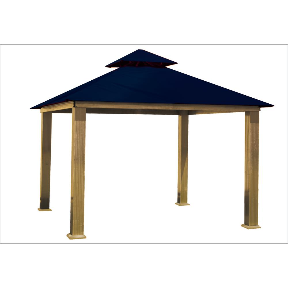12 ft. x 12 ft. Catalina Blue Gazebo
