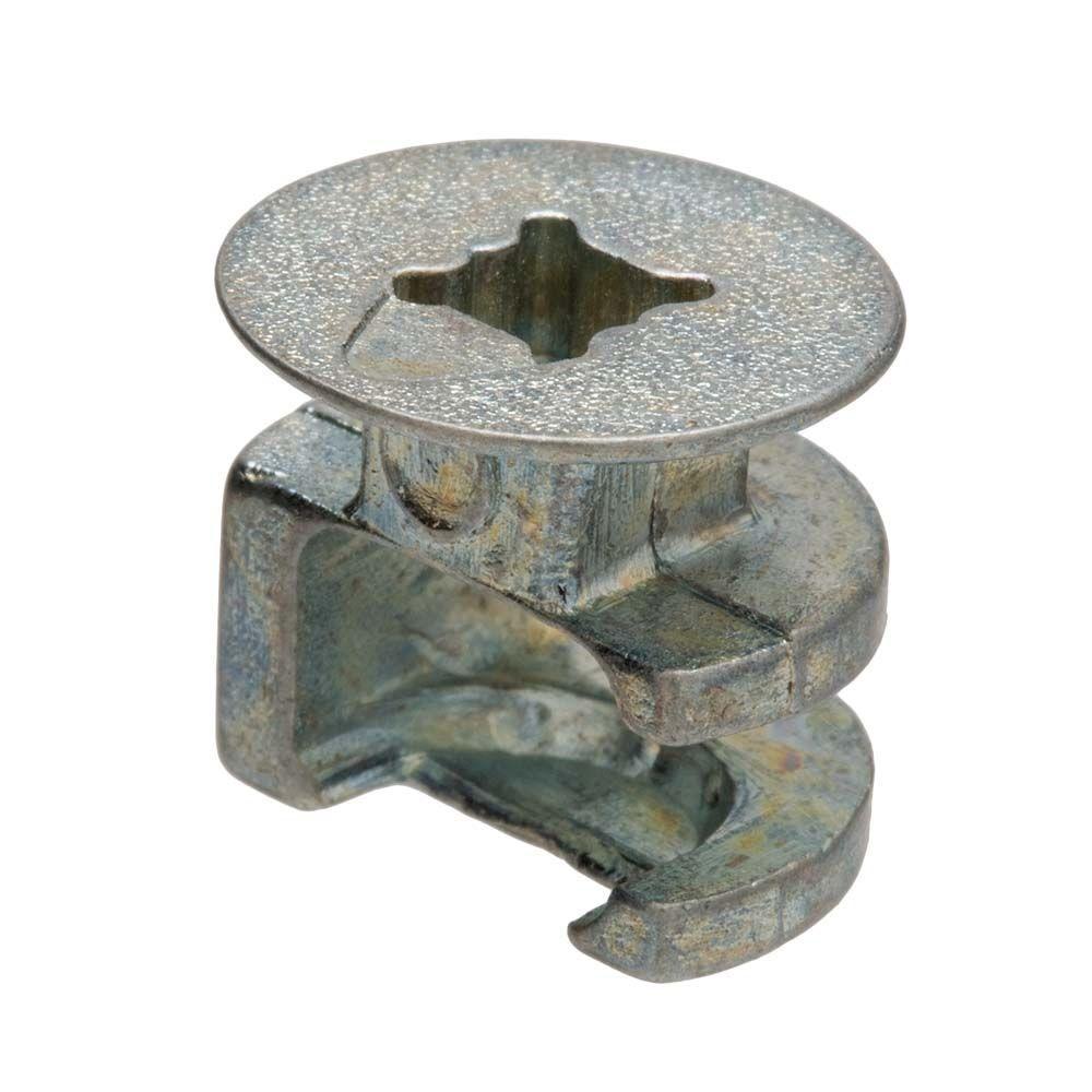 Crown Bolt 15 mm x 12.5 mm Cam Connector Zinc
