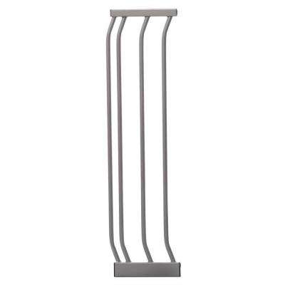 7 in. Silver Dawson 29.5 in. H. Extension