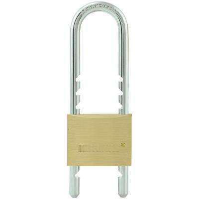 50 mm Brass Padlock with Adjustable Shackle