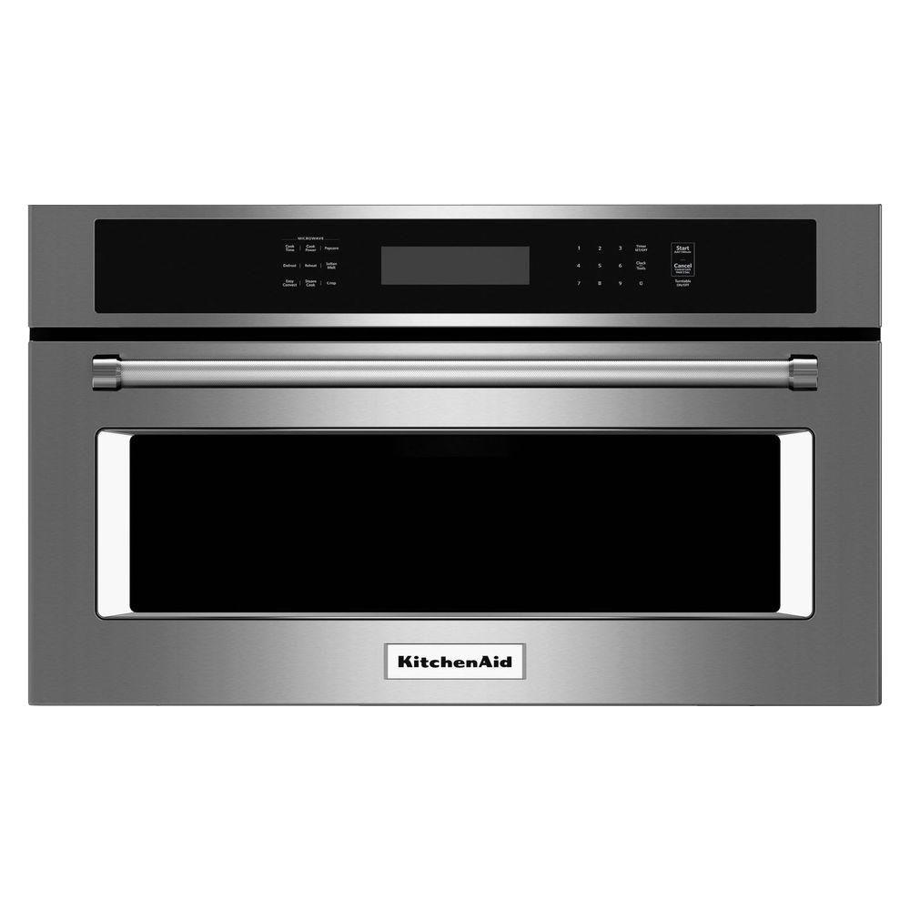1.4 cu. ft. Built-In Convection Microwave in Stainless Steel