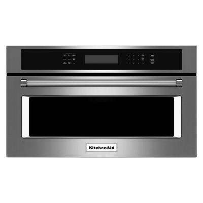 Built In Convection Microwave In Stainless Steel