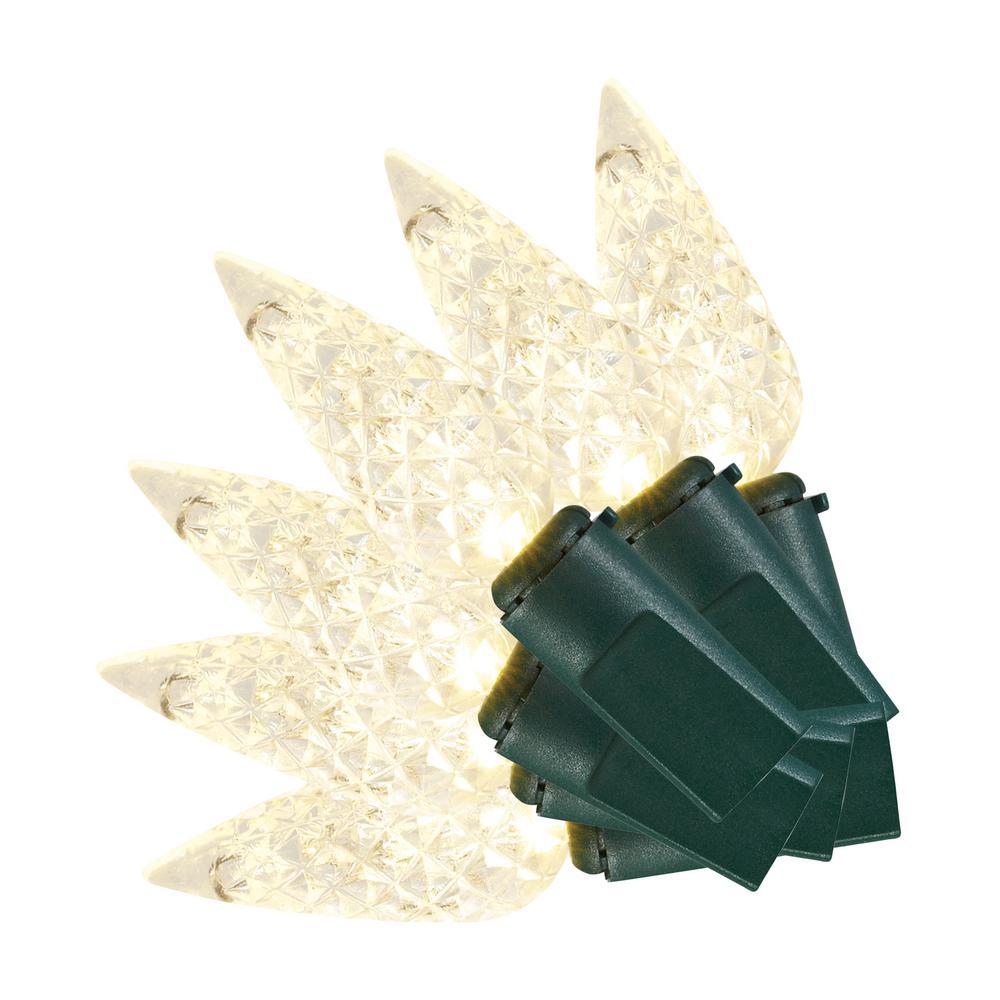 100L LED C6 SUPER BRIGHT CONSTANT ON WARM WHITE