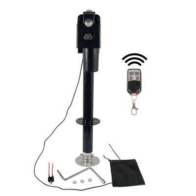 3500 Electric Tongue Jack with Wireless Remote in Black